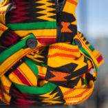 Kente Cloth Print Posa